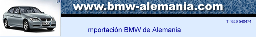 Oferta coches  bmw alemania